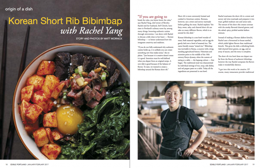 Rachel Yang have risen in the Northwest's culinary scene by, among many things, honoring authentic cuisine through reinvention.